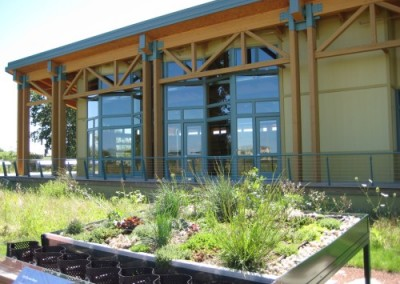 LEED Project: Evelyn Pease Tyner Interpretive Center